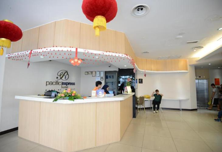 Pacific Express Hotel Central Market