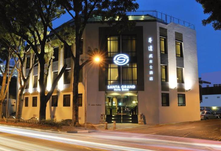 Santa Grand Hotel Bugis Adalah Di Lokasi Yang Baik Tepatnya Berada Kampong Glam