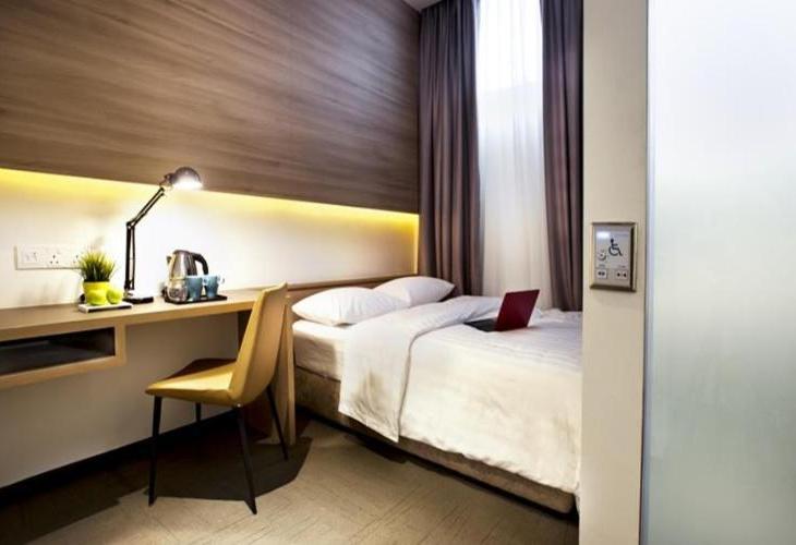 Hotel NuVe Adalah Di Lokasi Yang Baik Tepatnya Berada Kampong Glam