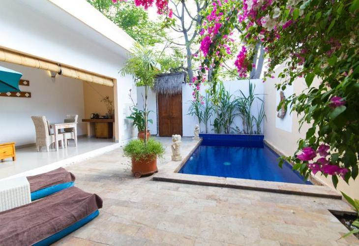Lokasi Hotel Villa Bella Gili Trawangan Berada Di