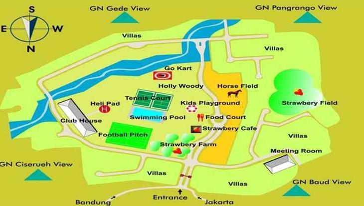 Puncak Resort Drive 232 By Aryaduta