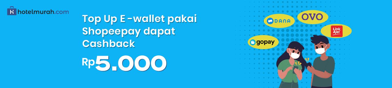 Top Up LINKAJA, GOPAY, OVO, DANA Dapat Cashback Rp 5.000