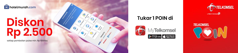 Beli Pulsa Telkomsel minimal Rp 100.000 dapat diskon Rp 2.500