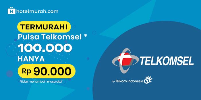 Beli Telkomsel 100 rb cuma 90 rb