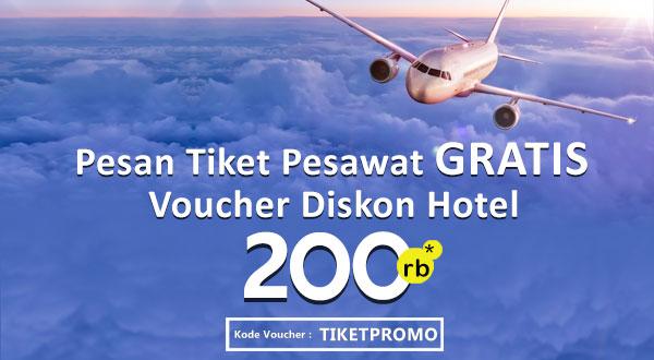 Promo Tiket Pesawat Free Voucher Hotel Hotelmurah Com
