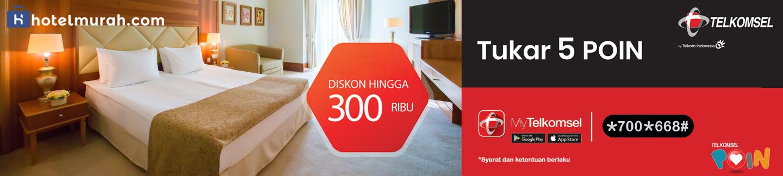 Diskon Hotel Hingga Rap 300.000