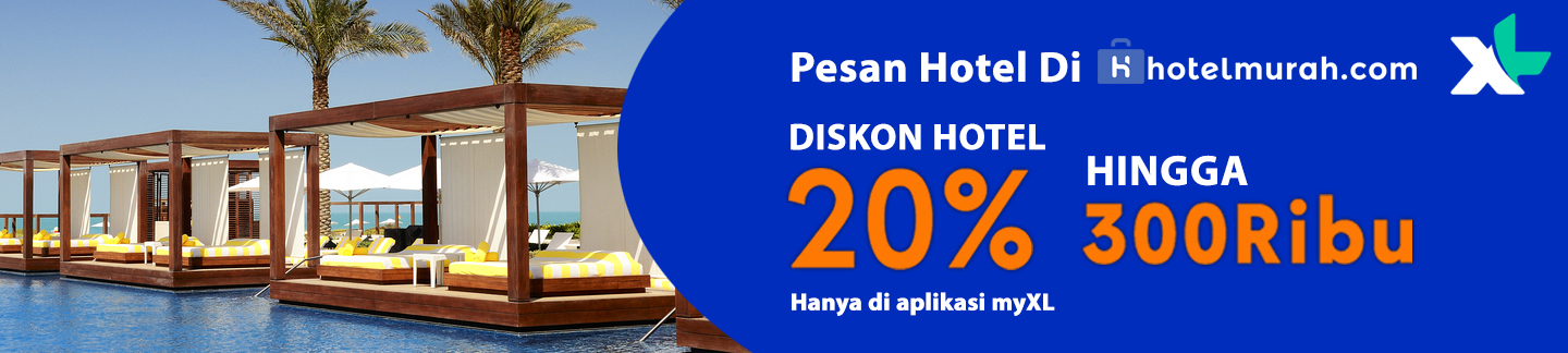 Promo XL disc 20% up to 300rb