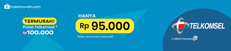 Pulsa Telkomsel termurah di hotelmurah.com