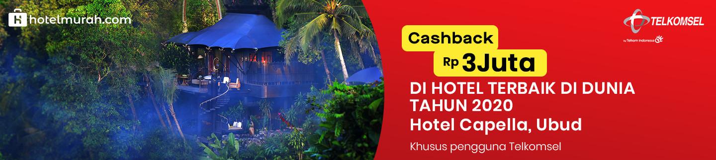 Cashback Rp 3.000.000 di Capella Ubud Hotel
